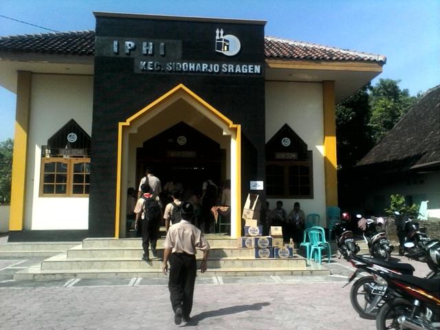 Gedung IPHI Sidoharjo Sragen lokasi Pembekalan Awal Tahun