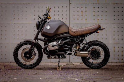 BMW GS1150 Custom  by Catrina Motorsurf