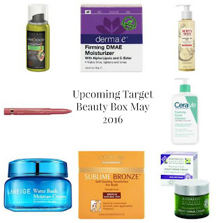 Target Beauty Box | May 2016