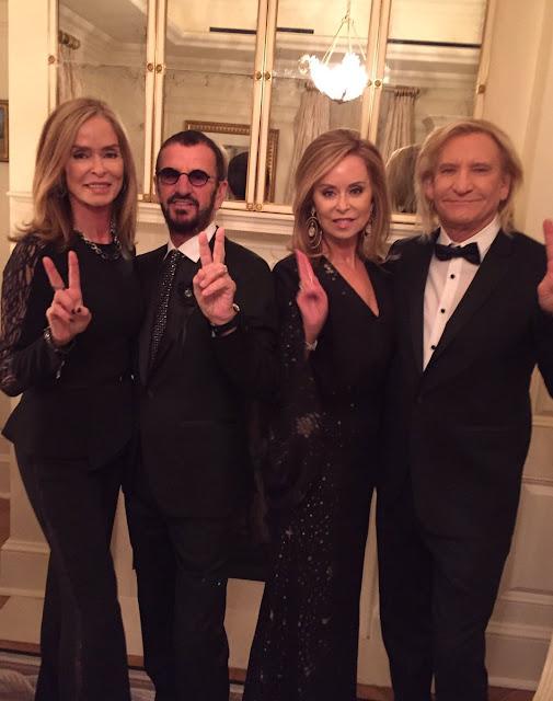The Beatles Polska: Ringo Starr pojawił się na ceremonii wręczenia Kennedy Center Honors w Białym Domu