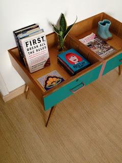 come creare un tavolino riciclando un cassetto