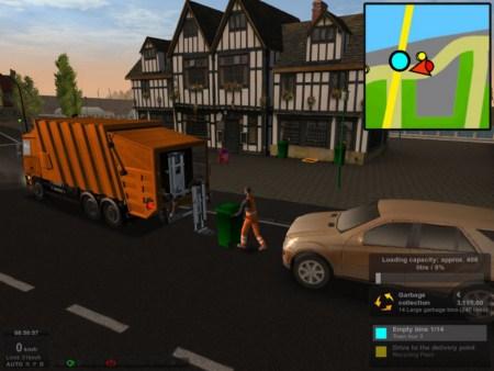 Garbage Truck Simulator (free version) download for PC