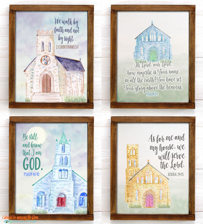Church Art Printables