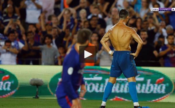 ريال يضرب برشلونة في ذهاب السوبر رغم طرد رونالدو