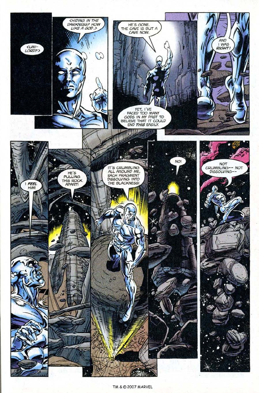 Read online Silver Surfer (1987) comic -  Issue #120 - 25