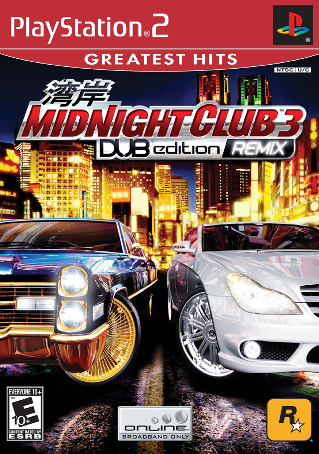 Midnight Club 3 Dub Edition Remix Playstation 2 - Midnight Club 3 - DUB Edition Remix NTSC PS2