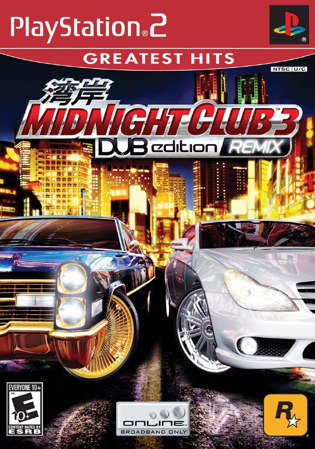 Midnight Club 3 Dub Edition Remix Playstation 2 - Midnight Club 3 - DUB Edition Remix NTSC PS2