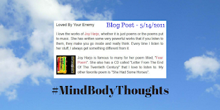 http://mindbodythoughts.blogspot.com/2011/05/loved-by-your-enemy.html