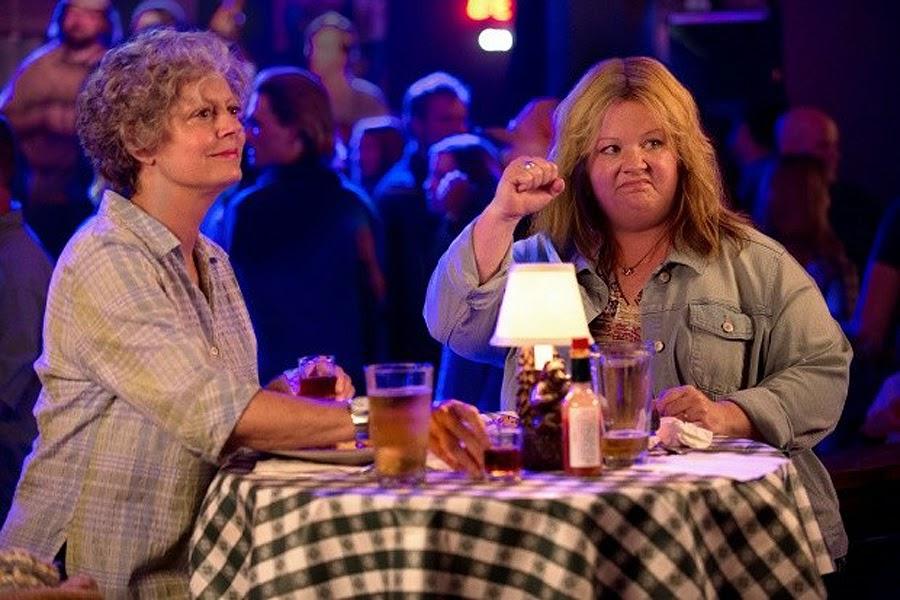 Melissa McCarthy şi Susan Sarandon în comedia Tammy