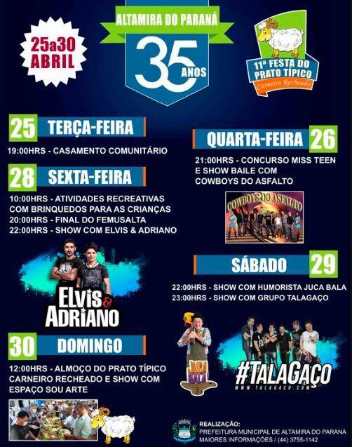 Altamira do Paraná em festa