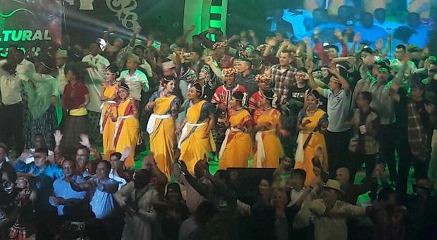 Prajurit TNI Terlibat Malam Budaya di Bangladesh
