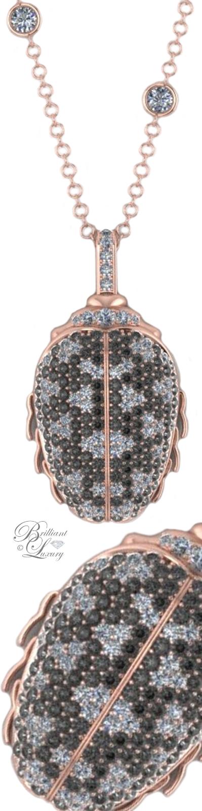 Brilliant Luxury ♦ Bobby White Lady London Necklace