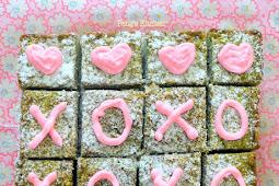 Matcha Pecan Brownies