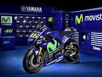 Ini Yamaha YZR M1 2017 Terbaru Tunggangan Rossi - Vinales