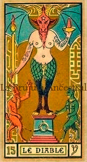 Tarot Wirth: El Diablo Golden