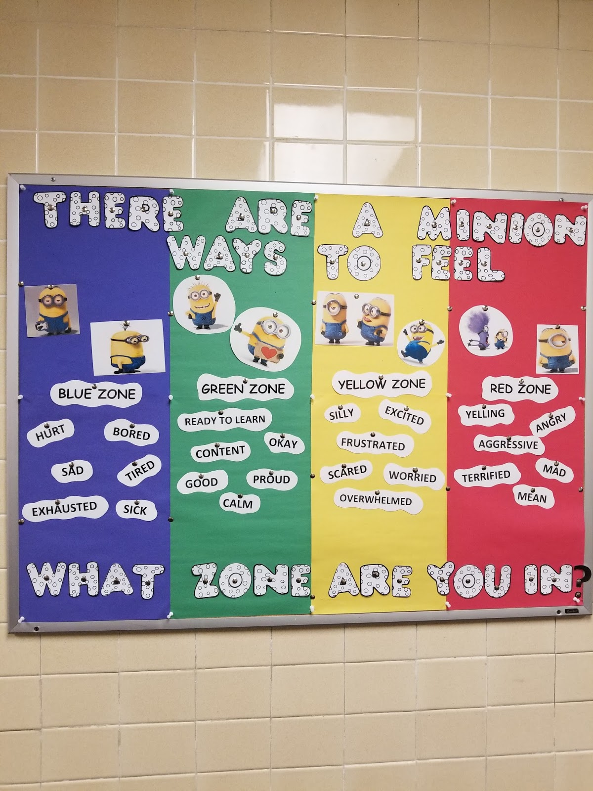 Elementary School Counselors Corner Minion Zones Of