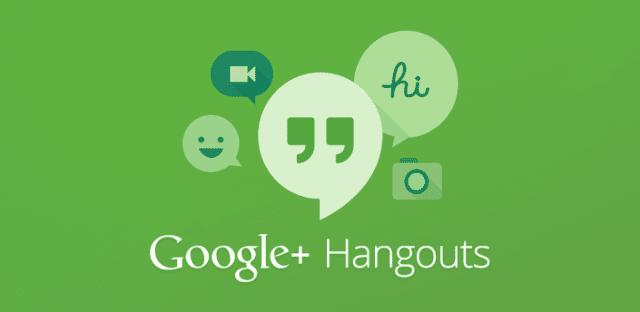 som baixar google hangouts