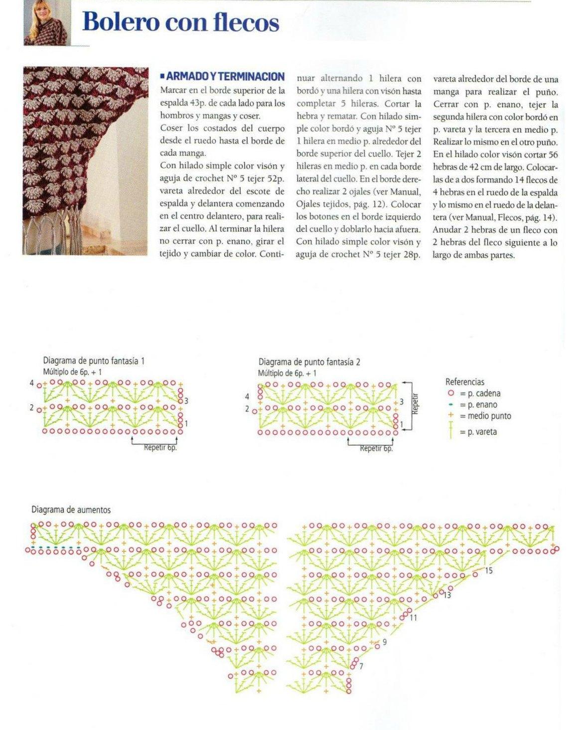 Perfecto Patrón Libre Del Capullo Del Ganchillo Festooning - Coser ...