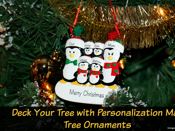 Deck Your Tree with Personalization Mall Christmas Tree Ornaments