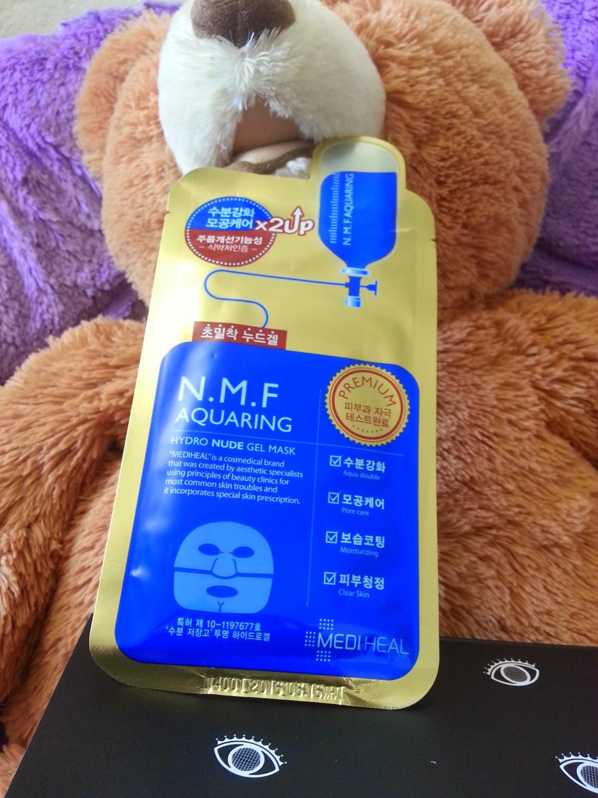 Mediheal N.M.F. Aquaring Nude Gel Mask