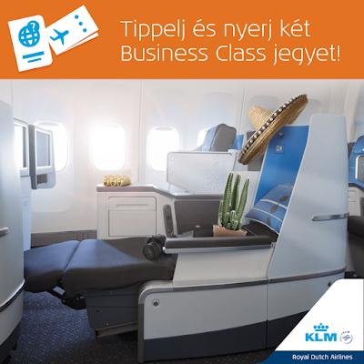 KLM BusinessClass Nyereményjáték