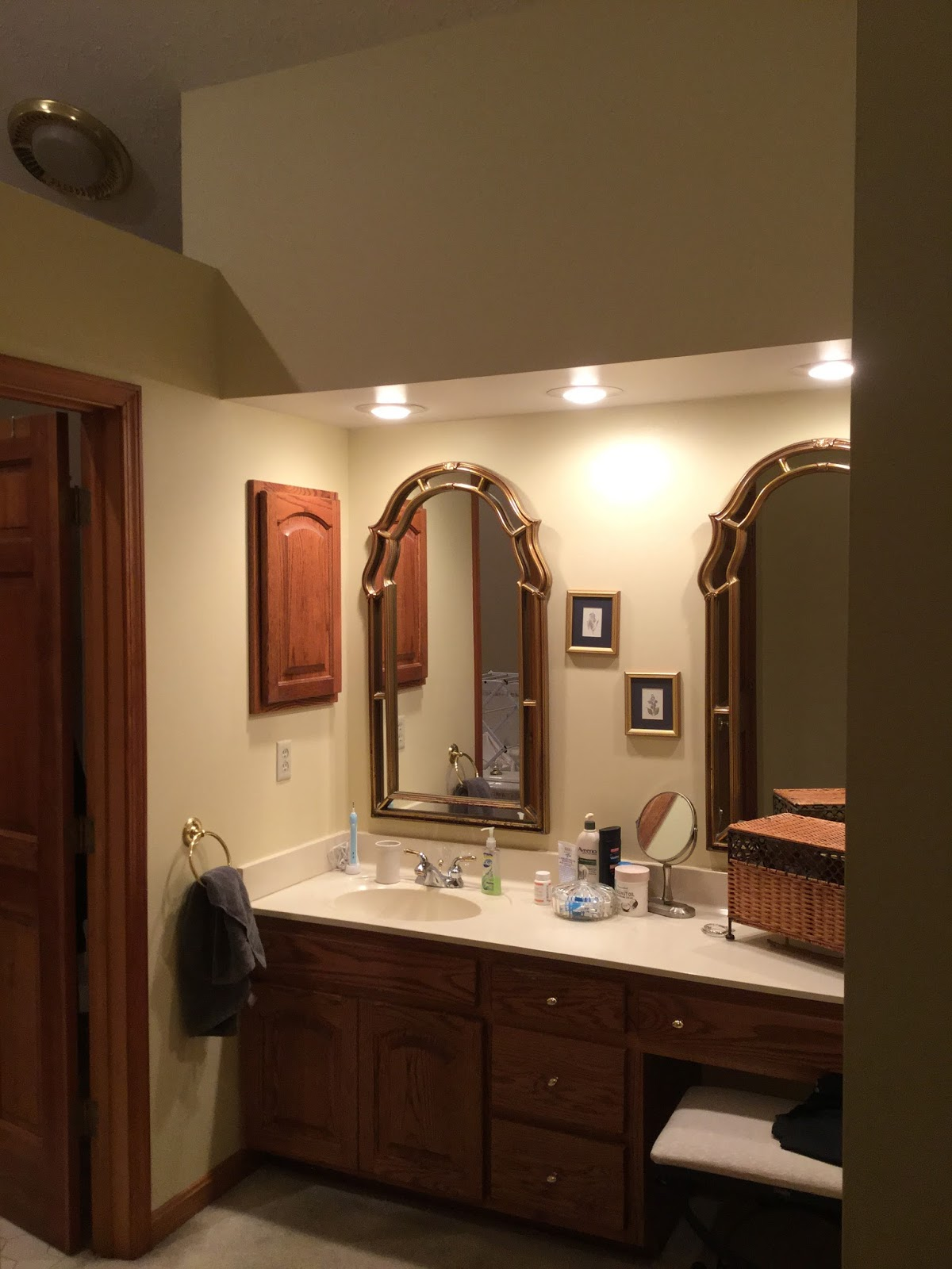 Inspirational The couple needed my design services in space planning drawing up plans for the overall space including the design of the vanity and help in selecting