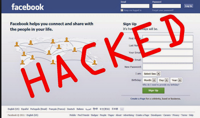 facebook id hack without softwer