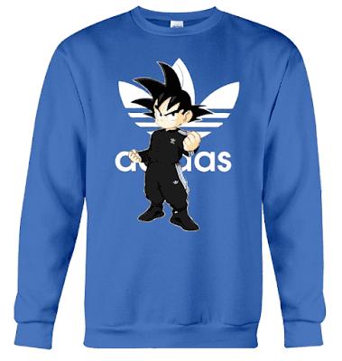Goku Adidas T Shirt Hoodie Jacket Sweatshirt Sweater 2018