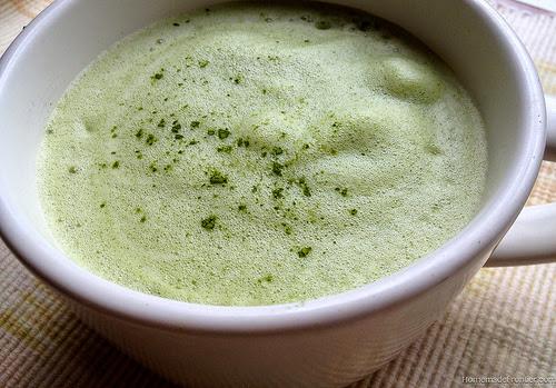 ceaiul verde cu lapte este un detoxifiant foarte puternic