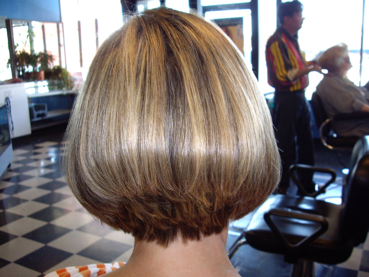 Hair Style Short Bob: Celebrity Hairstyle: Stacked Hairstyles
