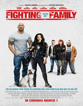 Fighting with My Family (2019) English 720p HDRip 900MB ESubs