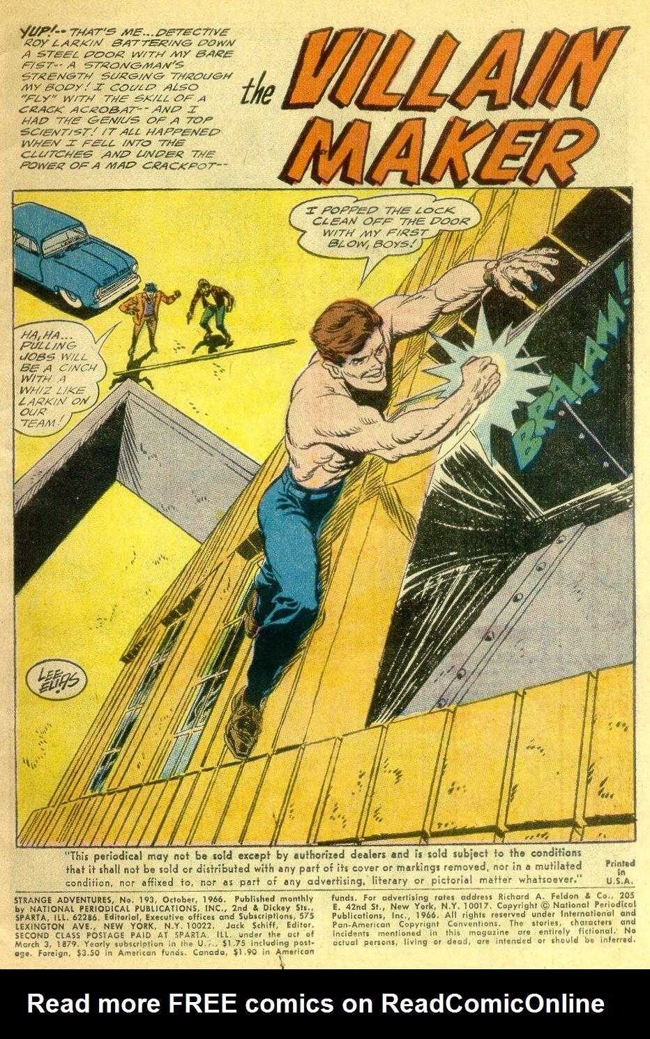 Strange Adventures (1950) issue 193 - Page 3