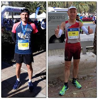 Atletismo Aranjuez Maratón de Málaga
