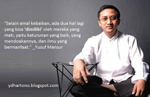 88 Kata Bijak Ustadz Yusuf Mansur Penuh Motivasi