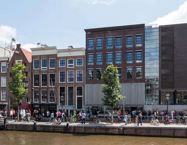 Museu e Casa da Anne Frank em Amsterdã
