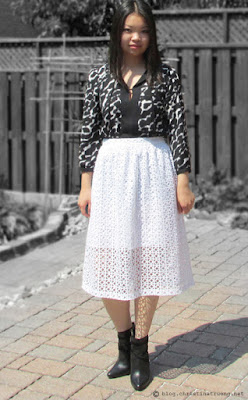 Wearing white after Labour Labor Day fashion outfit trend style rw&co calvin klein shoes blouse midi skirt