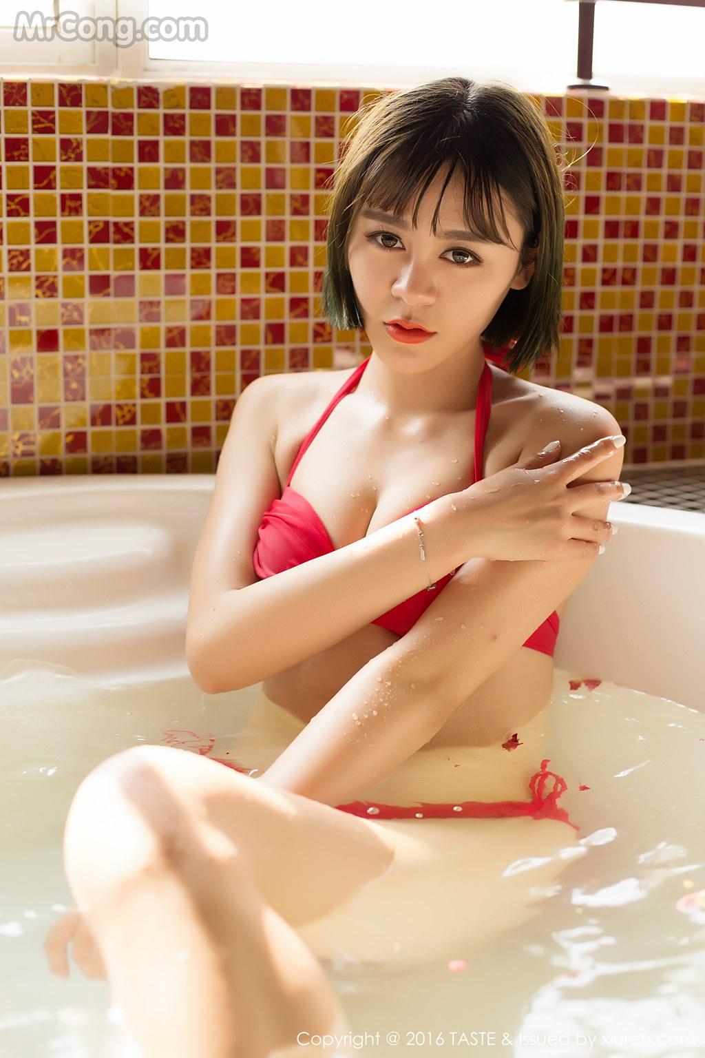 Image MrCong.com-TASTE-Vol.014-Wang-Meng-Meng-009 in post TASTE Vol.014: Người mẫu Wang Meng Meng (汪萌萌) (45 ảnh)