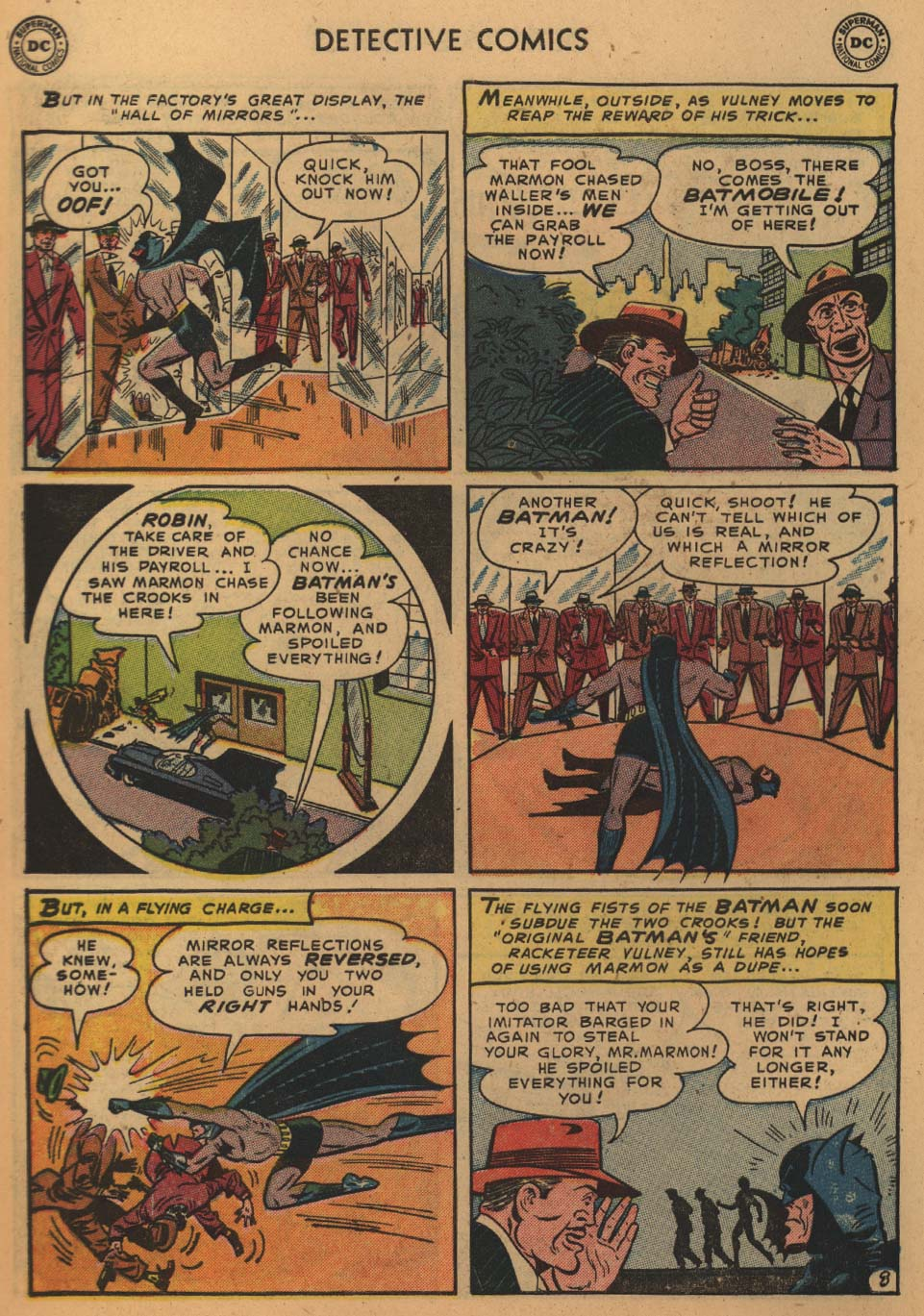 Detective Comics (1937) 195 Page 9