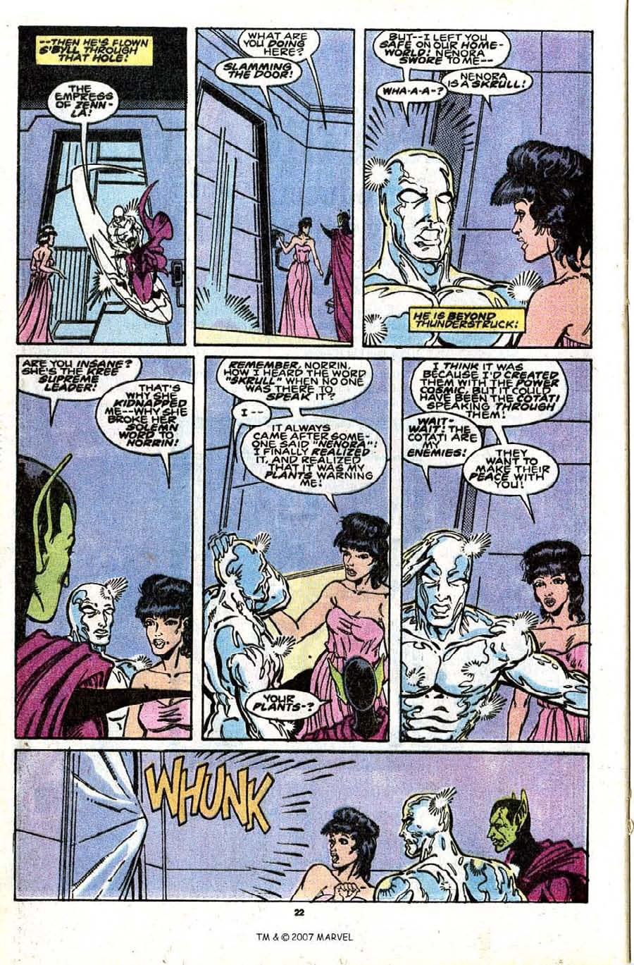 Read online Silver Surfer (1987) comic -  Issue #30 - 24