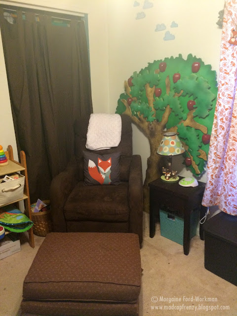 Woodland boy nursery