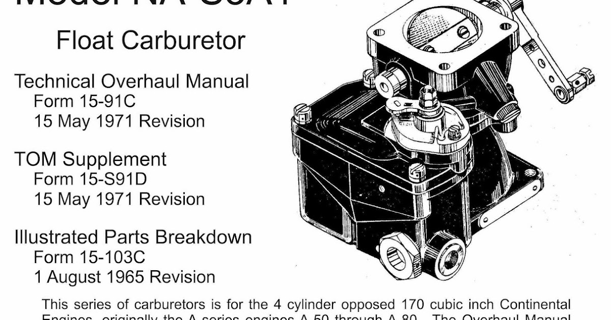Cessna 140 Rebirth: Carburetor Repairs