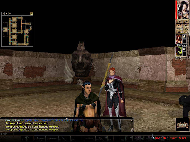 Neverwinter Nights Gameplay Screenshot 2