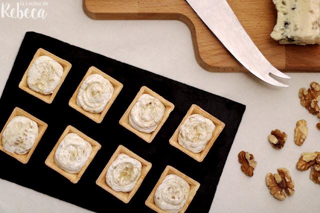 Paté de nueces y queso azul