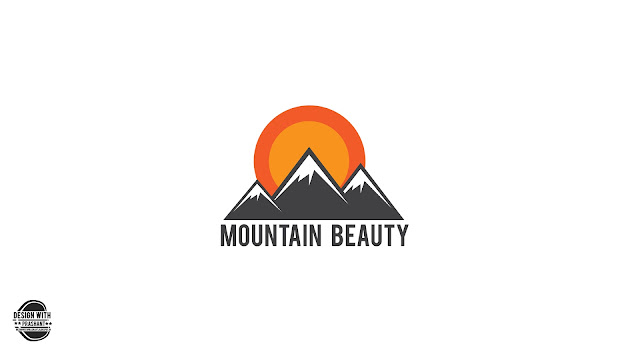 MOUNTAIN LOGO | ADOBE ILLUSTRATOR | DESIGN WITH PRASHANT
