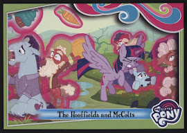 My Little Pony The Hooffields and McColts Series 4 Trading Card
