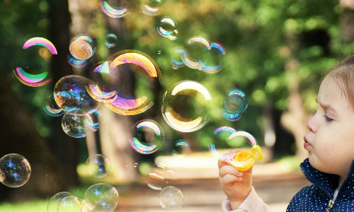 Seattle Bubble Flash Mob is planned for July 8, 2017.