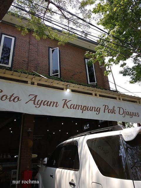 rumah makan soto ayam pak djayus surabaya