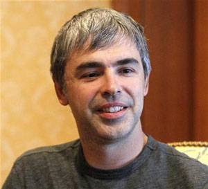 Presidente-executivo do Google, Larry Page
