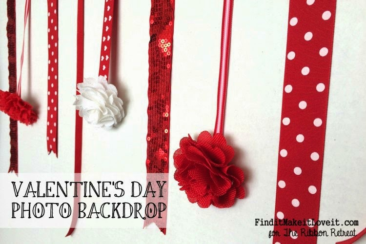 valentines day photo backdrop