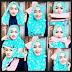 Tutorial Hijab Pesta Pernikahan Simpel Praktis Glamour Modern 2017